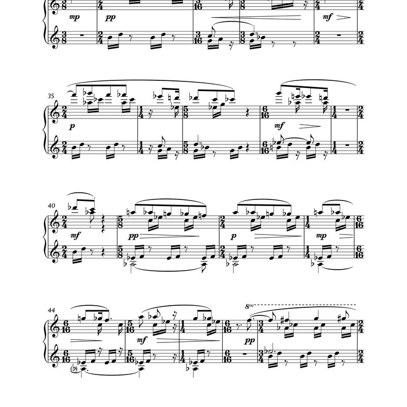Piano pieces about food - product preview 3