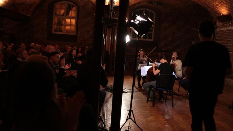 The Albion Quartet at Listenpony (c) Katherine Waters