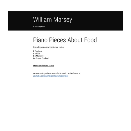 Piano pieces about food - product preview thumbnail 4